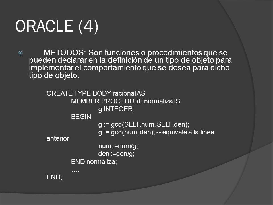 ORACLE (4)
