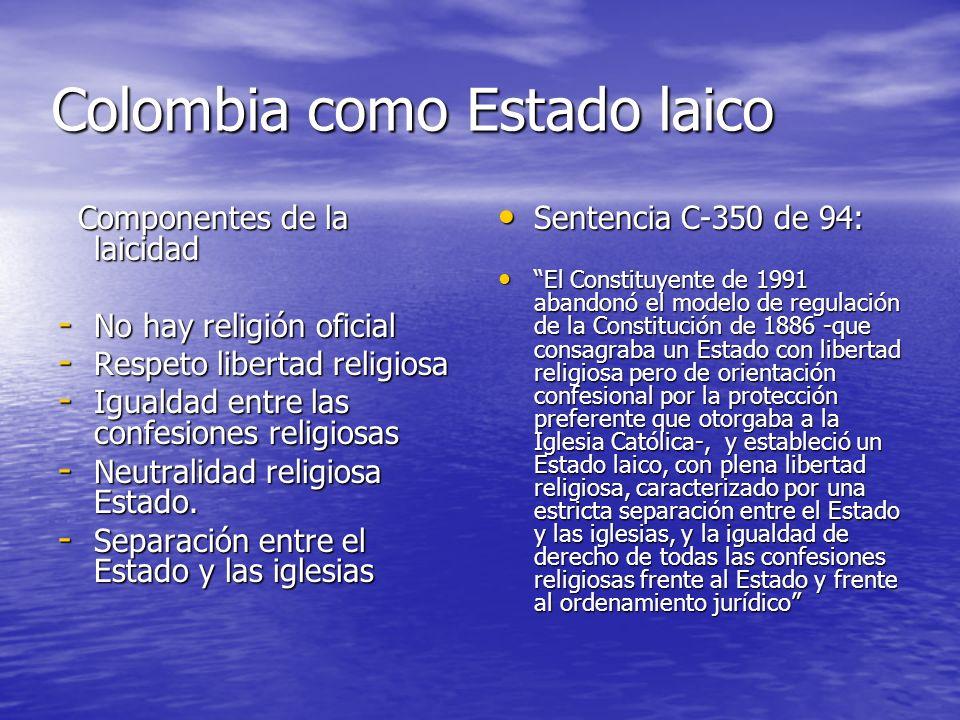 Colombia como Estado laico