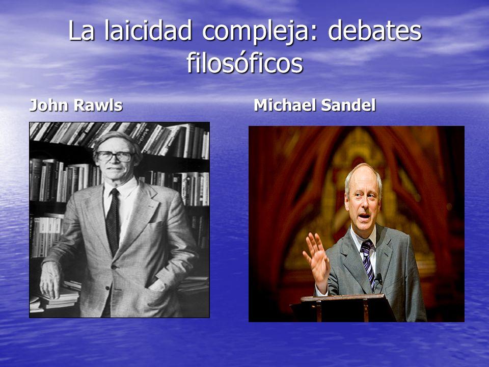 La laicidad compleja: debates filosóficos