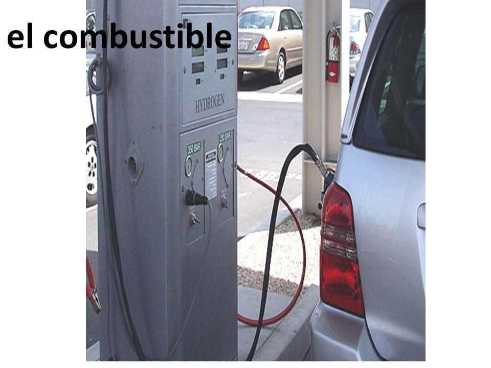 el combustible