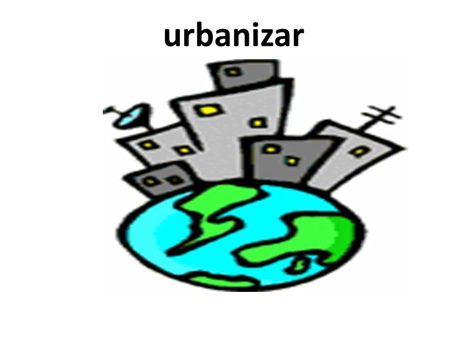 urbanizar
