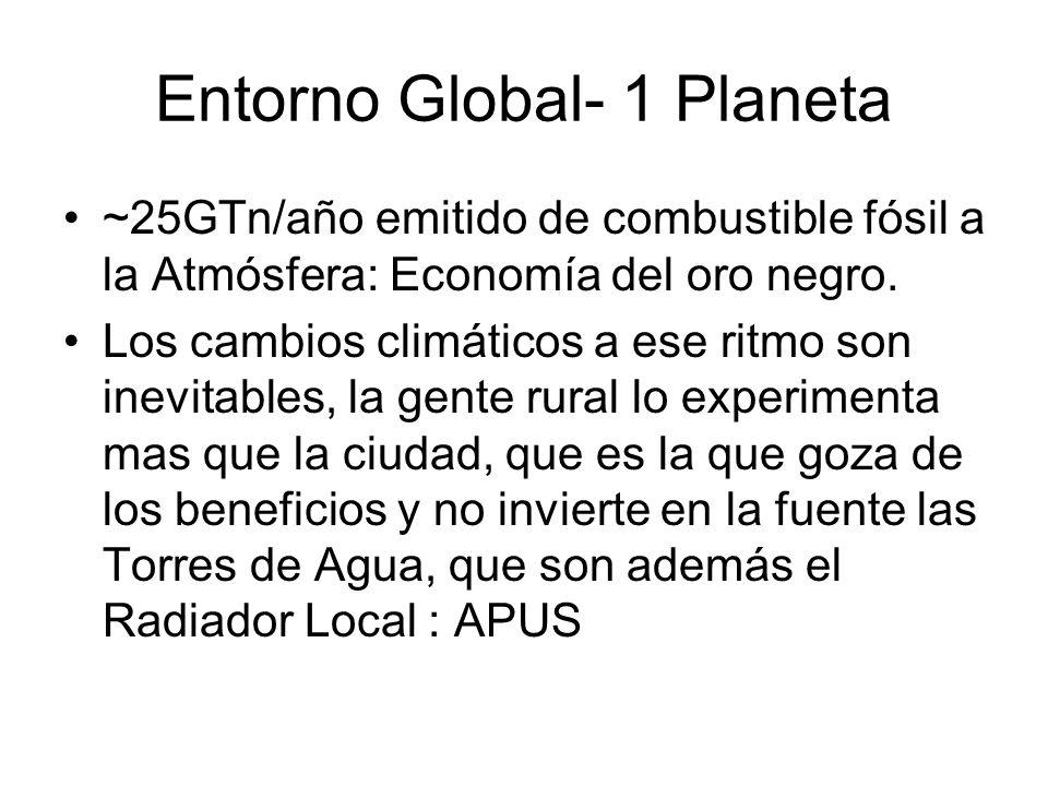 Entorno Global- 1 Planeta