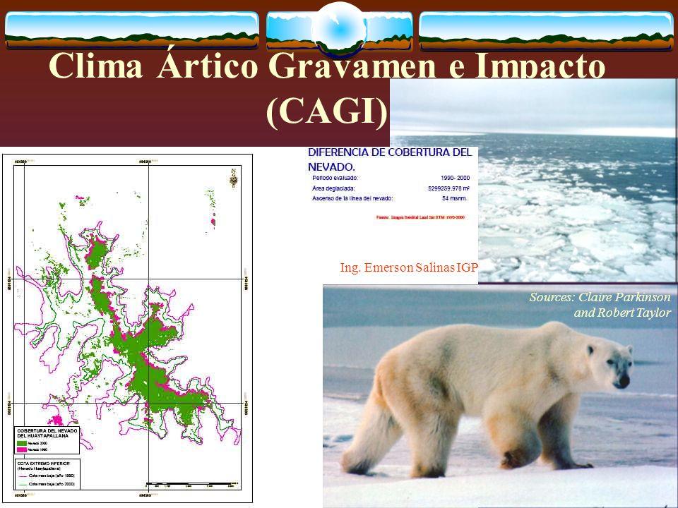 Clima Ártico Gravamen e Impacto (CAGI)