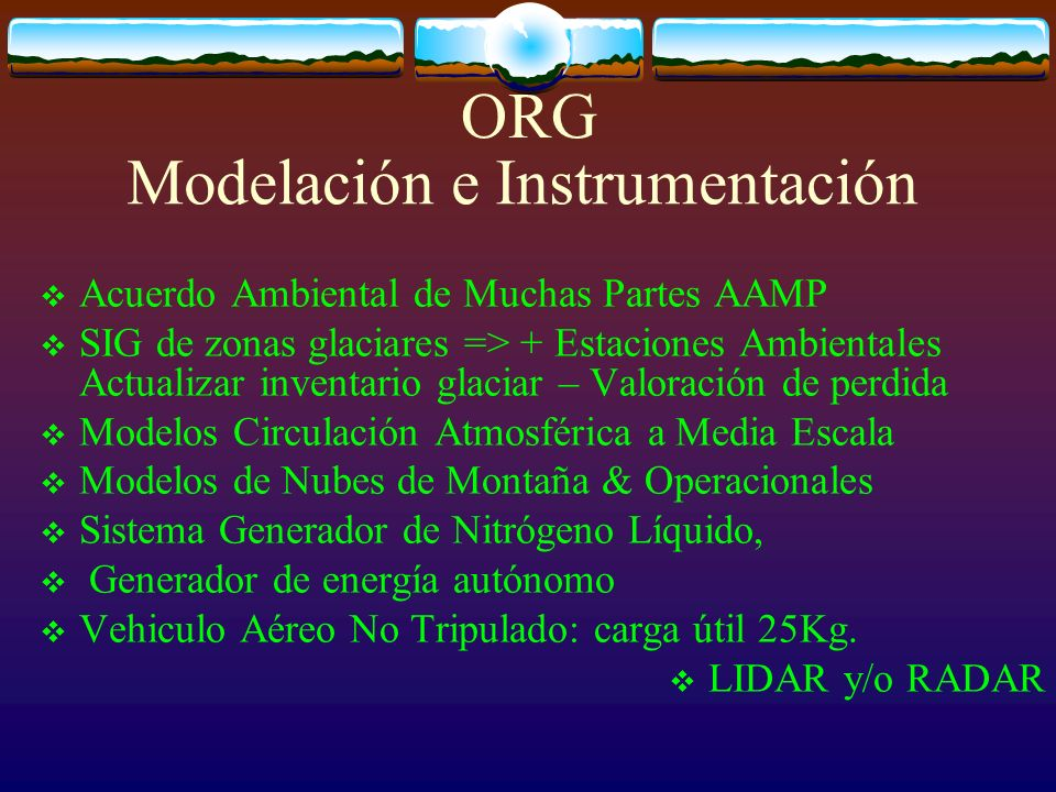 Modelación e Instrumentación