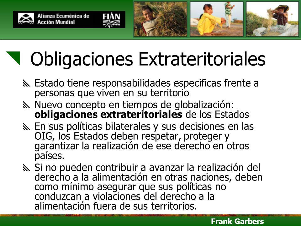 Obligaciones Extrateritoriales