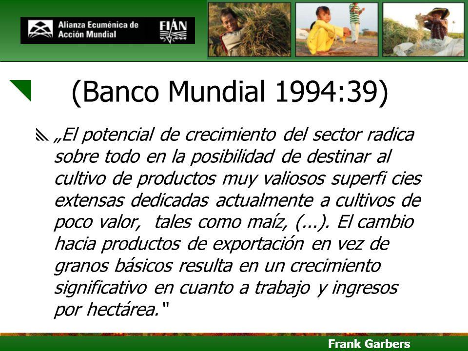 (Banco Mundial 1994:39)