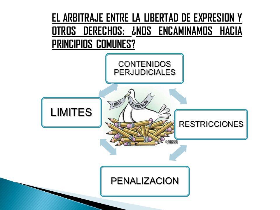 CONTENIDOS PERJUDICIALES