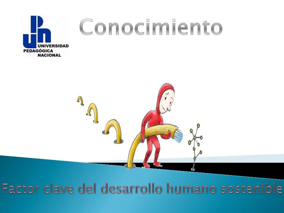 Factor clave del desarrollo humano sostenible