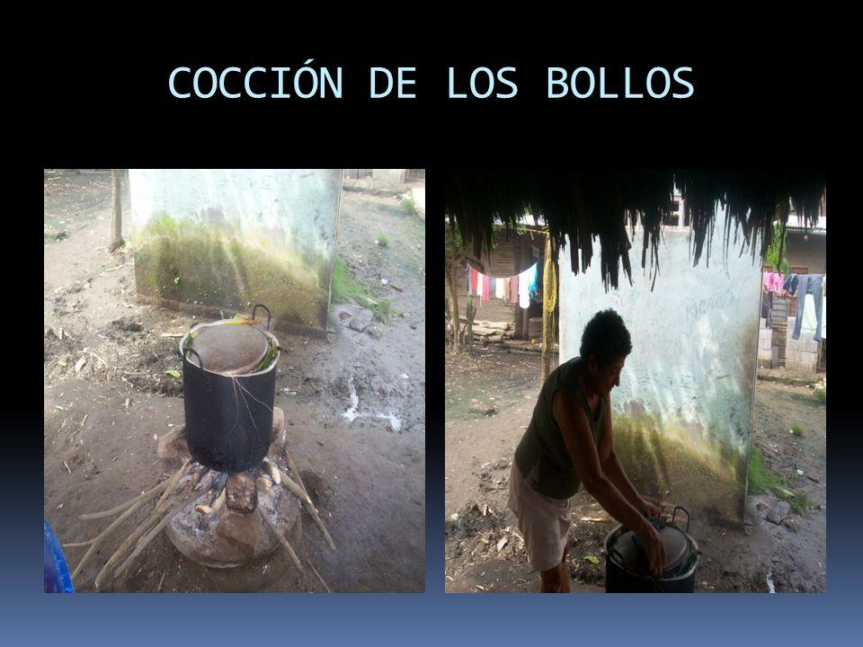 COCCIÓN DE LOS BOLLOS