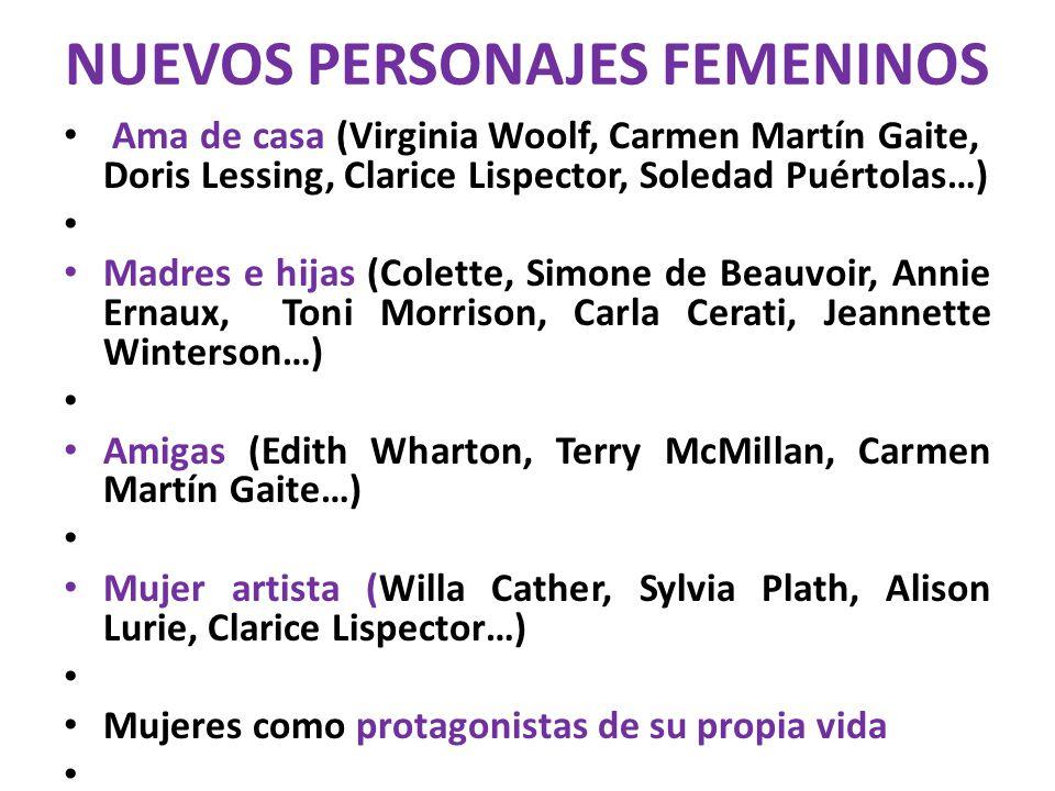 NUEVOS PERSONAJES FEMENINOS