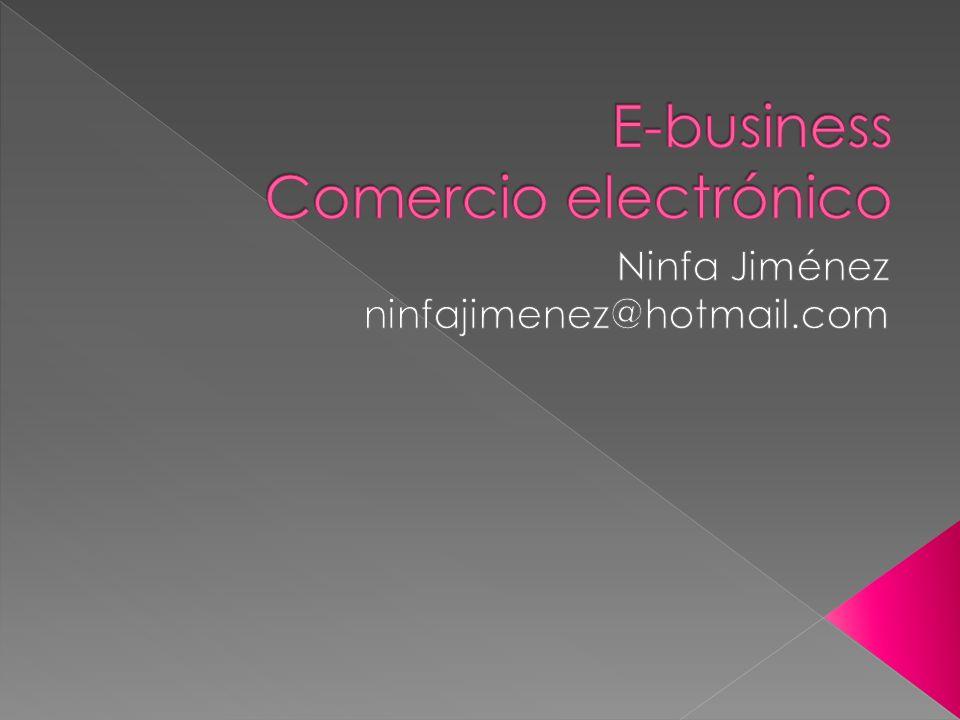 E-business Comercio electrónico