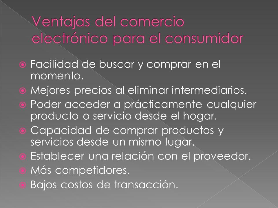 Ventajas del comercio electrónico para el consumidor