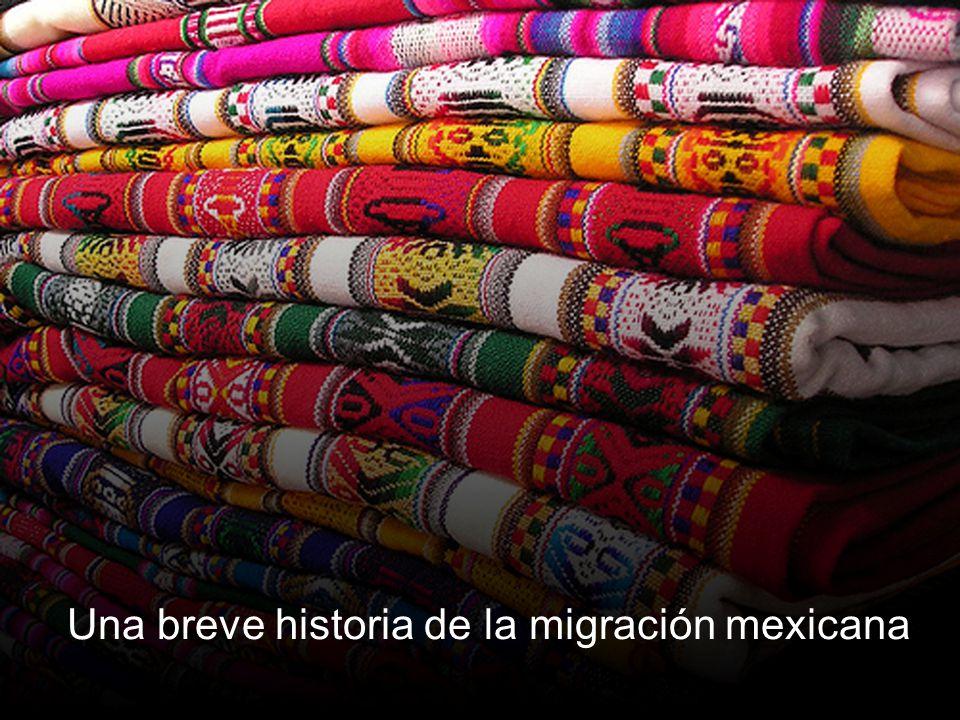 Una breve historia de la migración mexicana