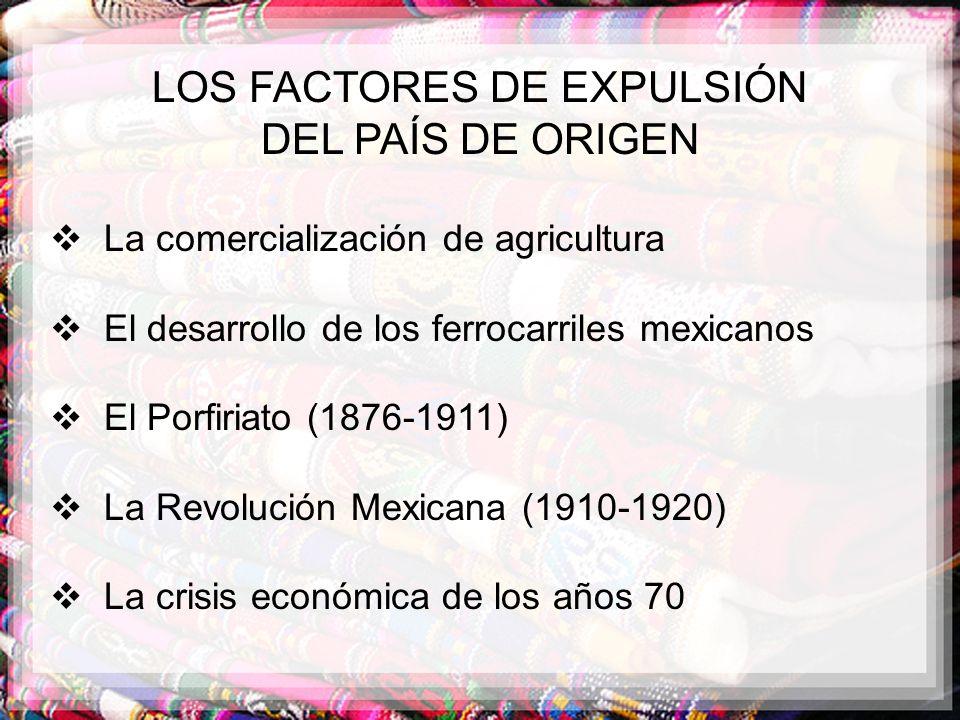 LOS FACTORES DE EXPULSIÓN