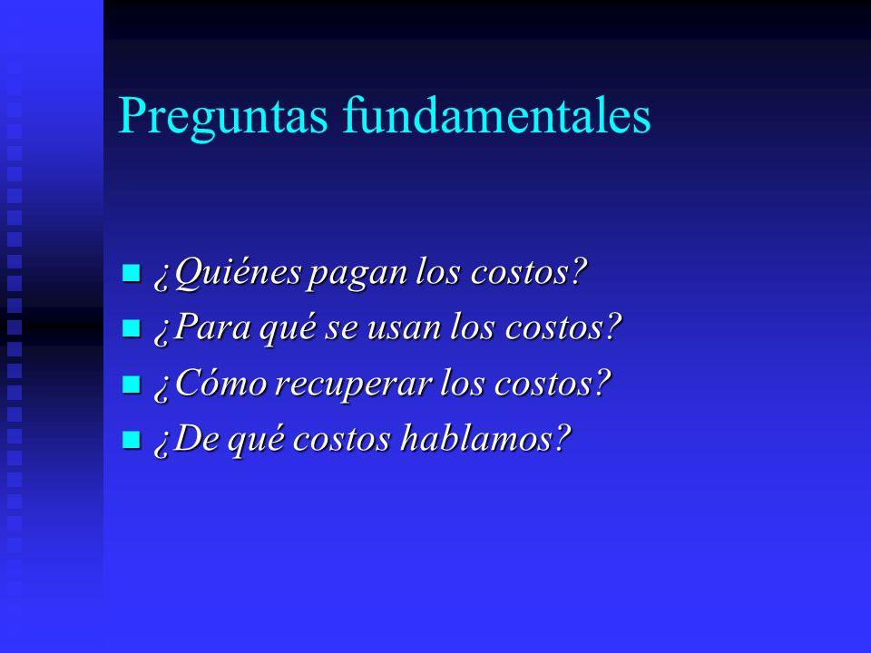 Preguntas fundamentales