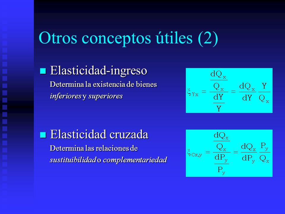 Otros conceptos útiles (2)