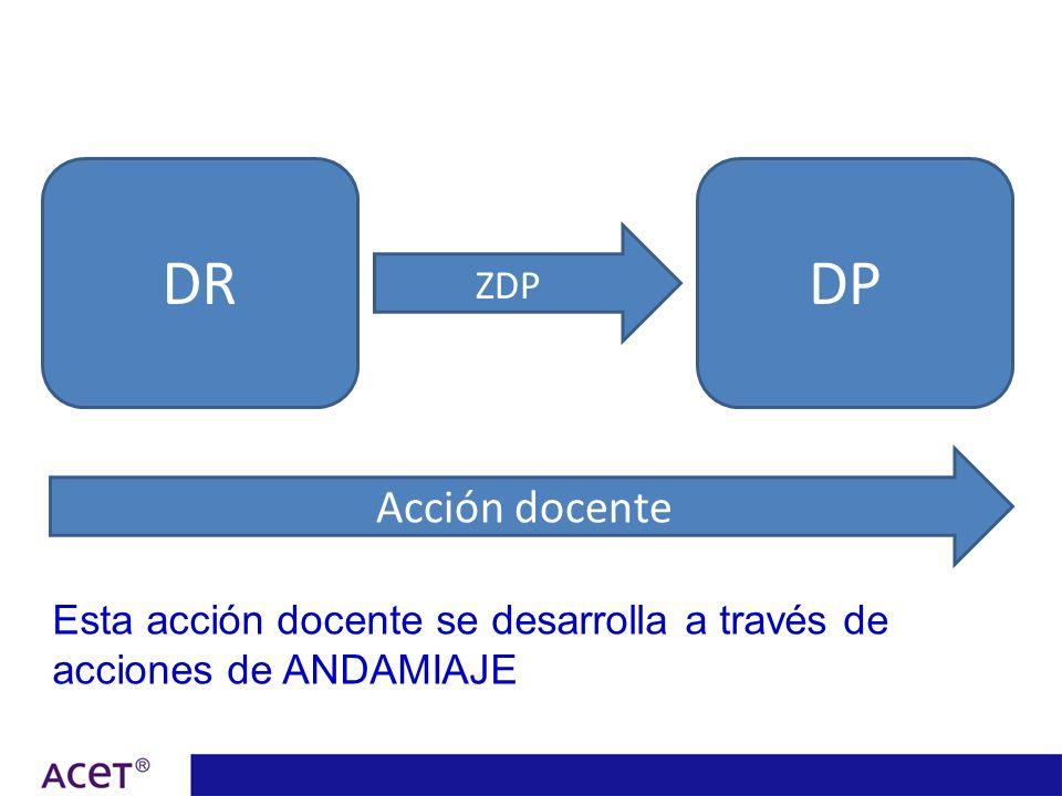 DR DP Acción docente ZDP