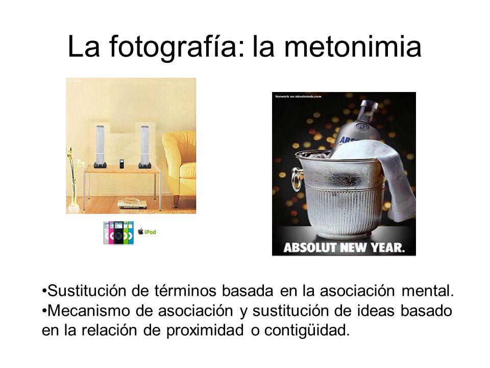 La fotografía: la metonimia