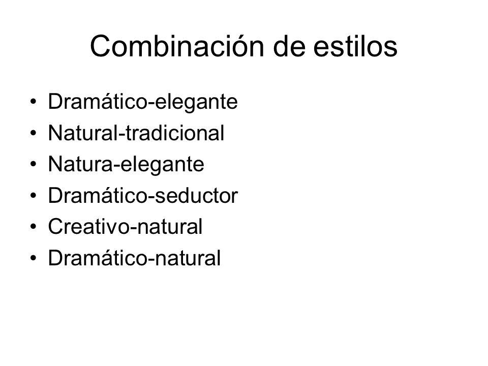 Combinación de estilos