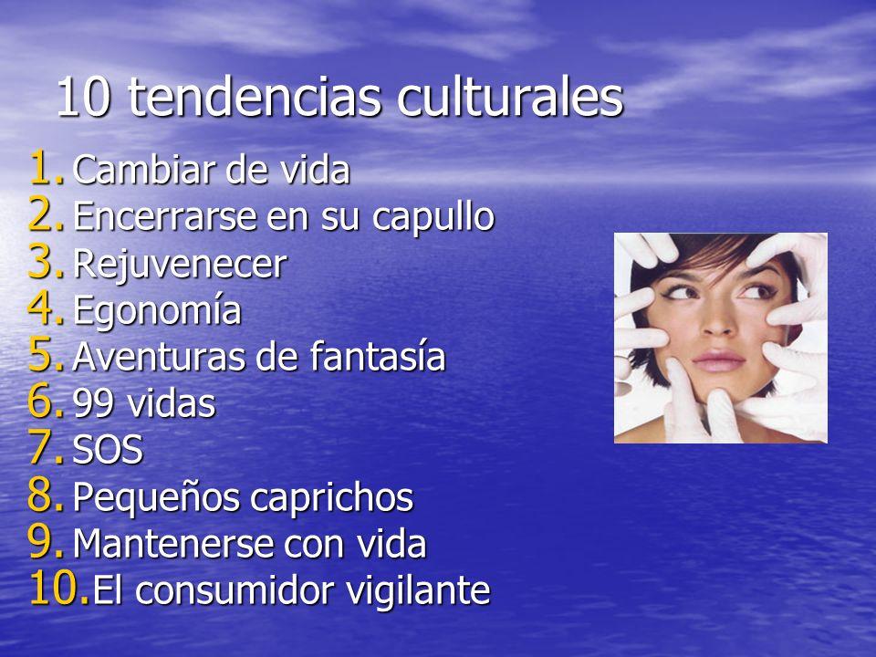 10 tendencias culturales