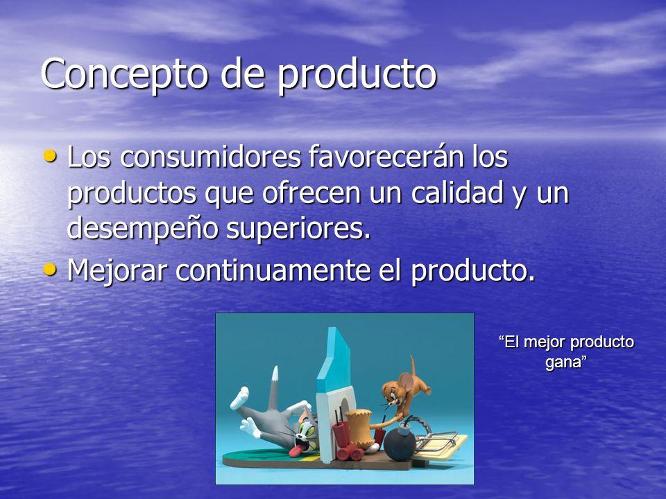 El mejor producto gana