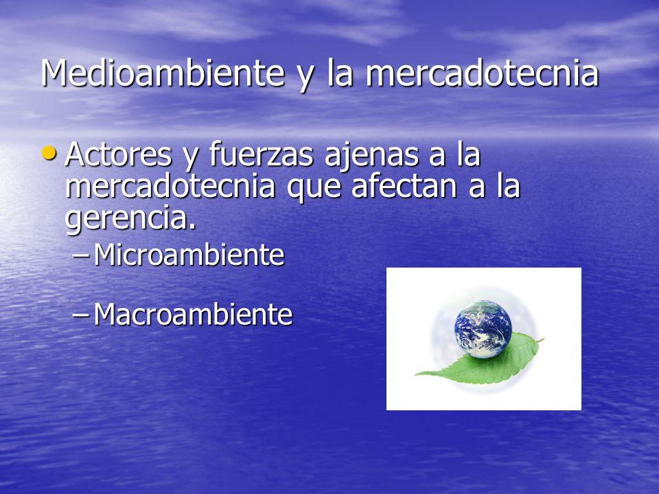 Medioambiente y la mercadotecnia