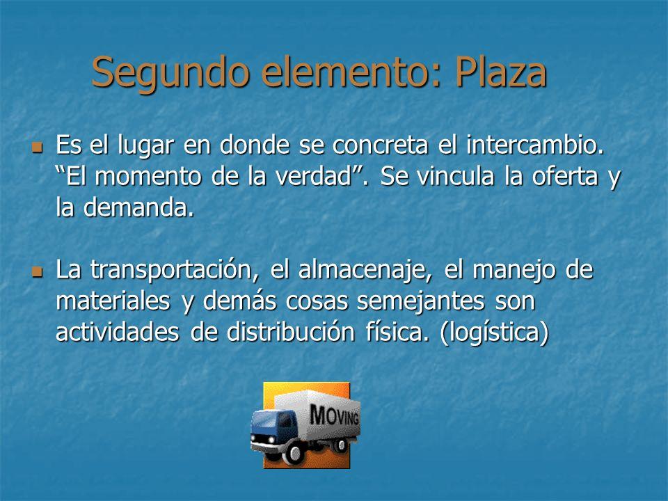 Segundo elemento: Plaza