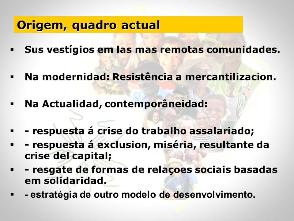 Origem, quadro actual - estratégia de outro modelo de desenvolvimento.
