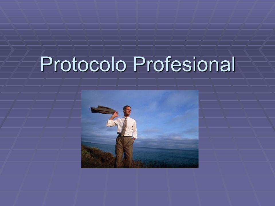 Protocolo Profesional
