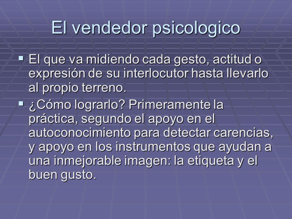 El vendedor psicologico