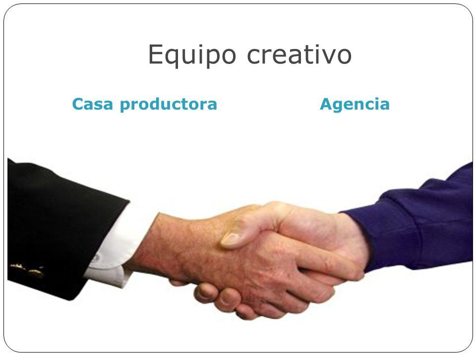 Equipo creativo Casa productora Agencia
