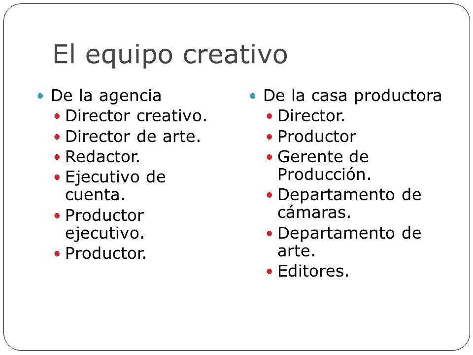 El equipo creativo De la agencia Director creativo. Director de arte.