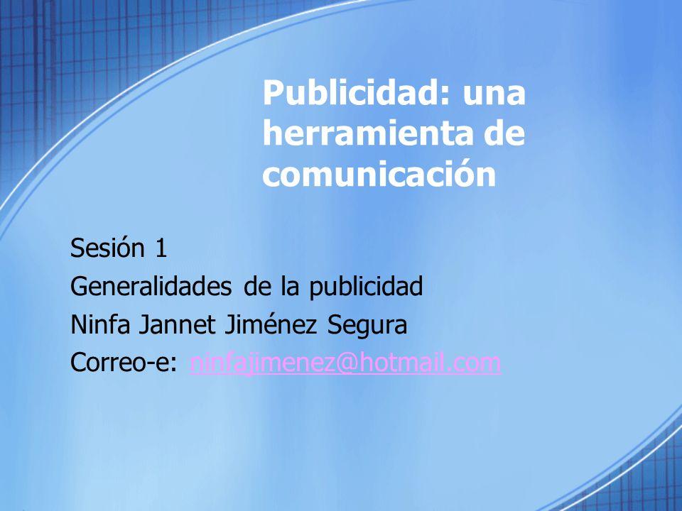 Publicidad: una herramienta de comunicación