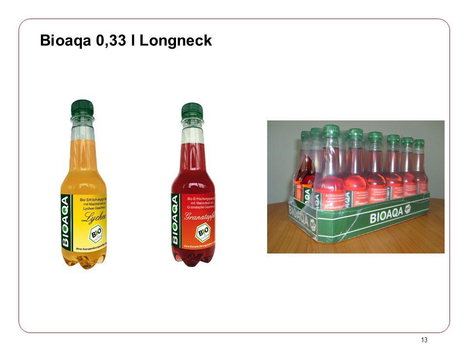 Bioaqa 0,33 l Longneck