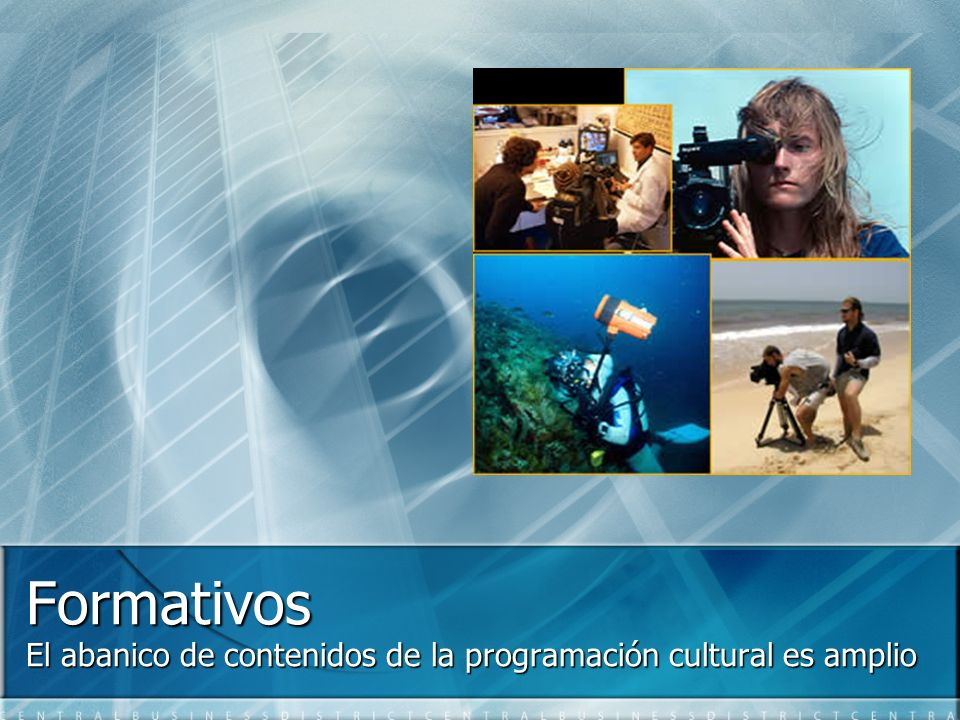 El abanico de contenidos de la programación cultural es amplio