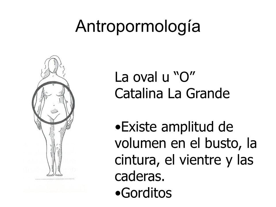 Antropormología La oval u O Catalina La Grande
