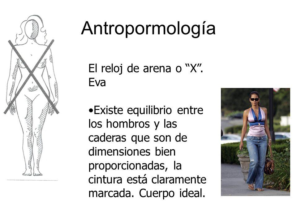 Antropormología El reloj de arena o X . Eva