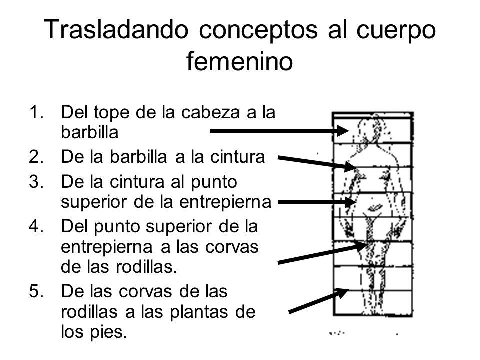 Trasladando conceptos al cuerpo femenino