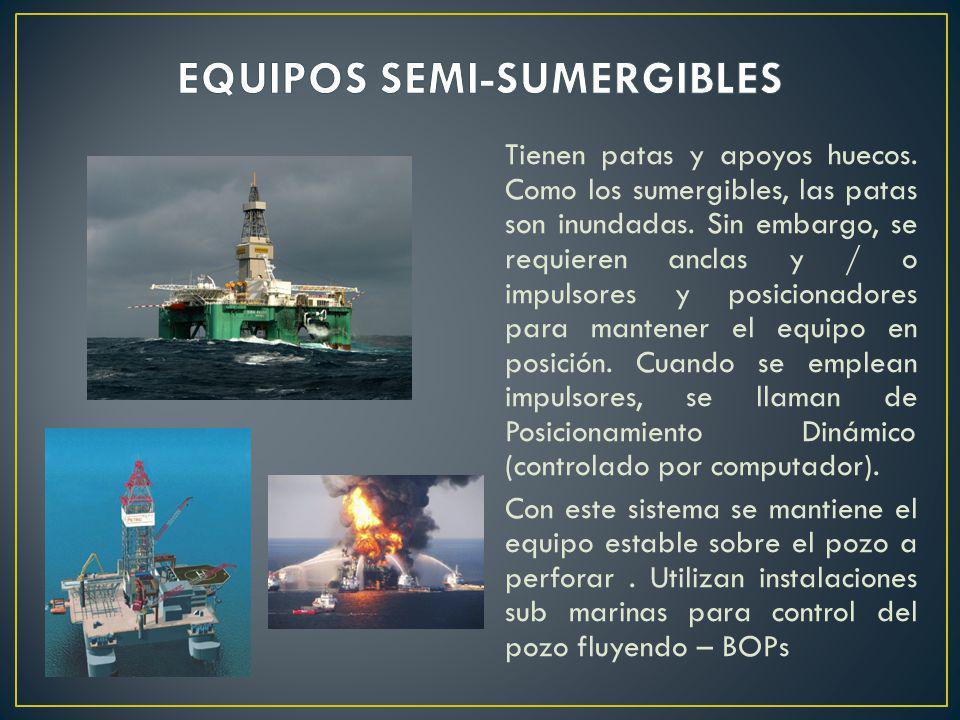 EQUIPOS SEMI-SUMERGIBLES
