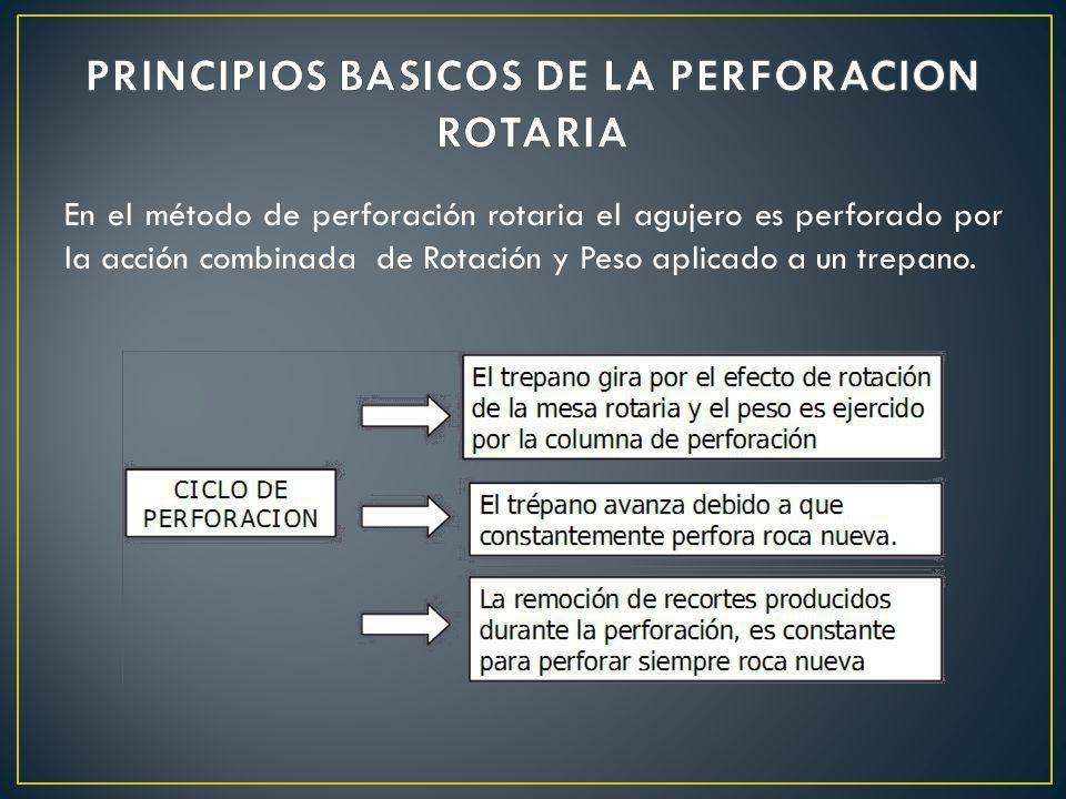 PRINCIPIOS BASICOS DE LA PERFORACION ROTARIA