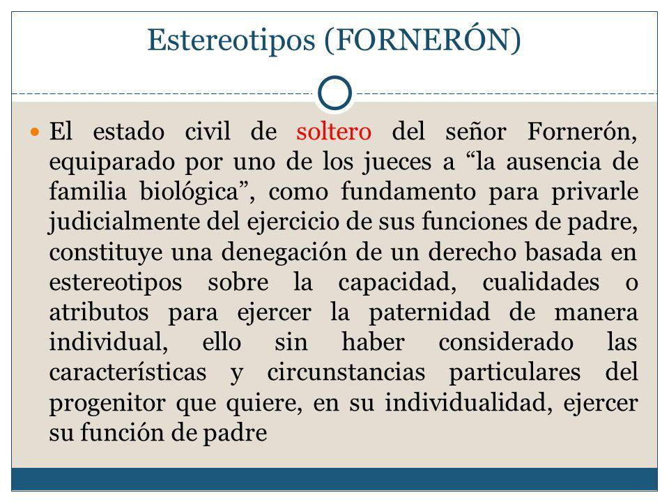 Estereotipos (FORNERÓN)