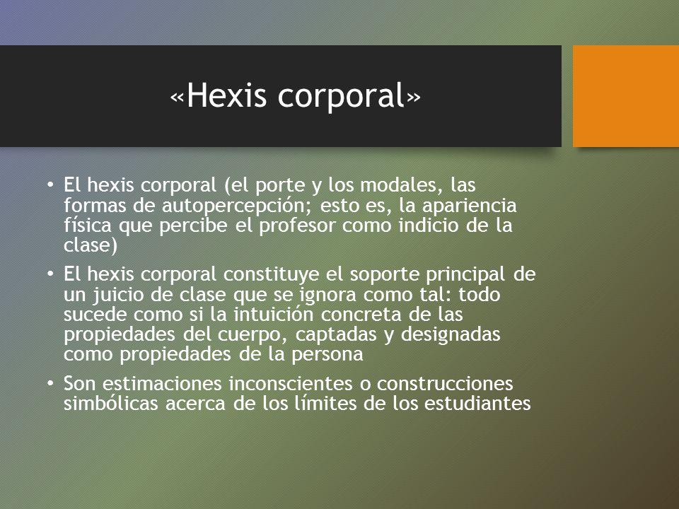 «Hexis corporal»