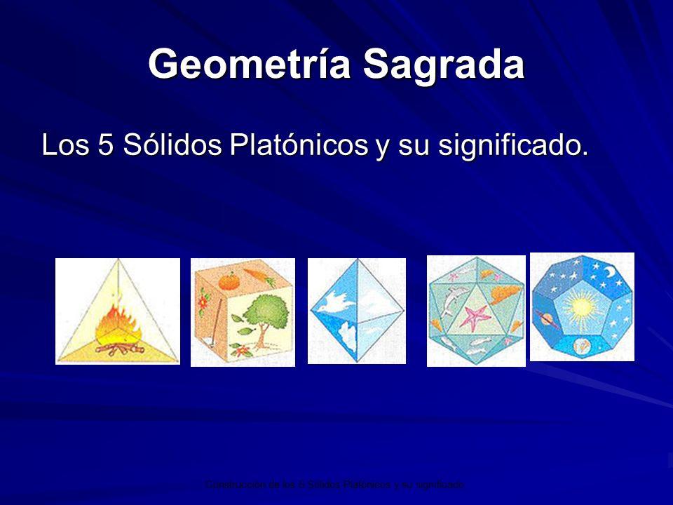 Geometría Sagrada Los 5 Sólidos Platónicos y su significado.