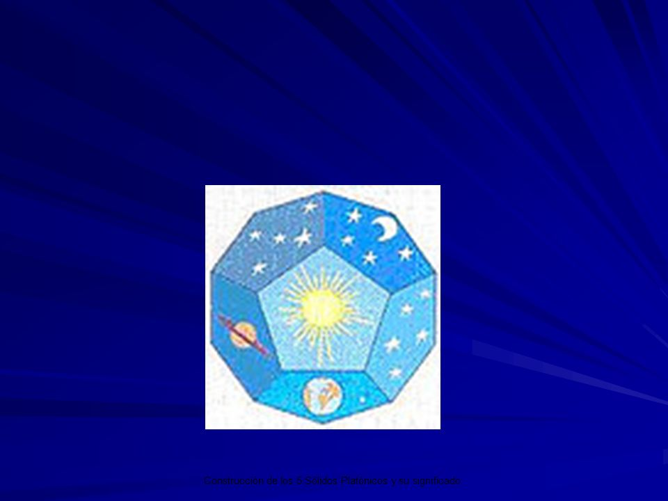 Los 5 Sólidos Platónicos y su significado.