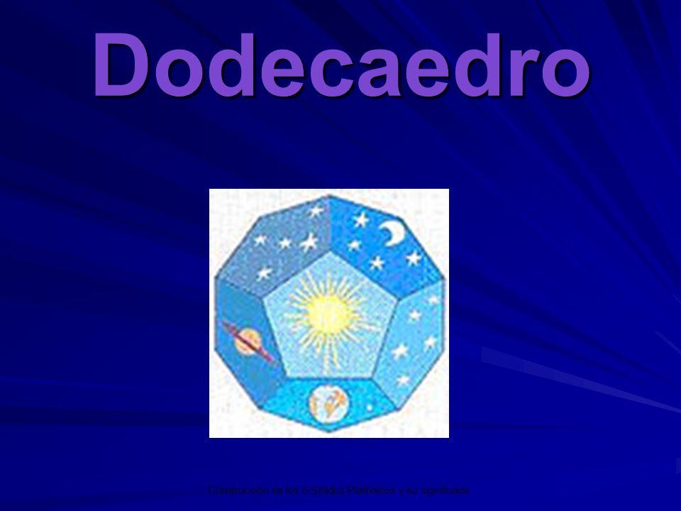 Dodecaedro Los 5 Sólidos Platónicos y su significado.