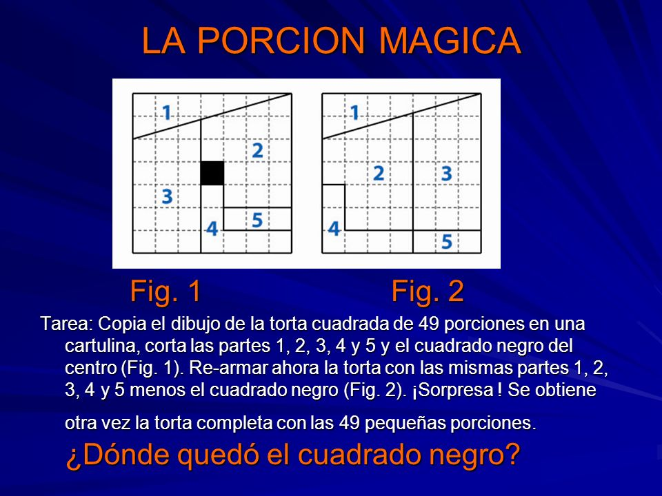 LA PORCION MAGICA Fig. 1 Fig. 2
