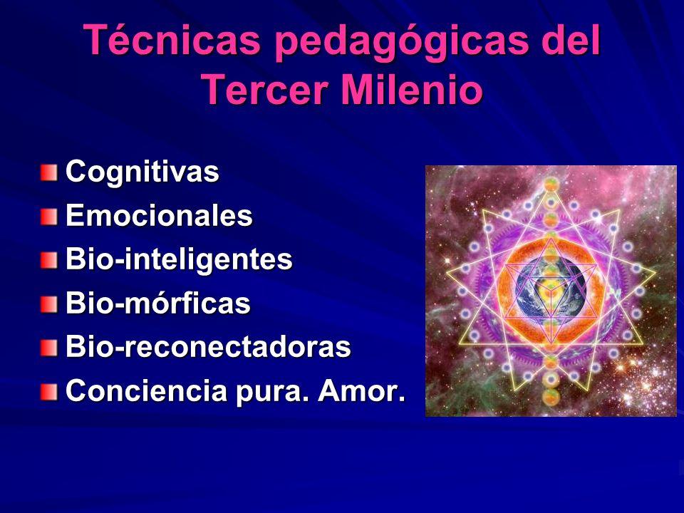 Técnicas pedagógicas del Tercer Milenio