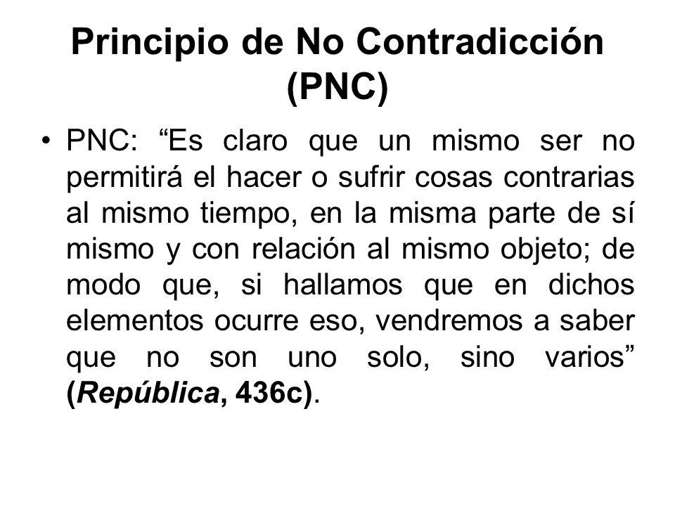 Principio de No Contradicción (PNC)