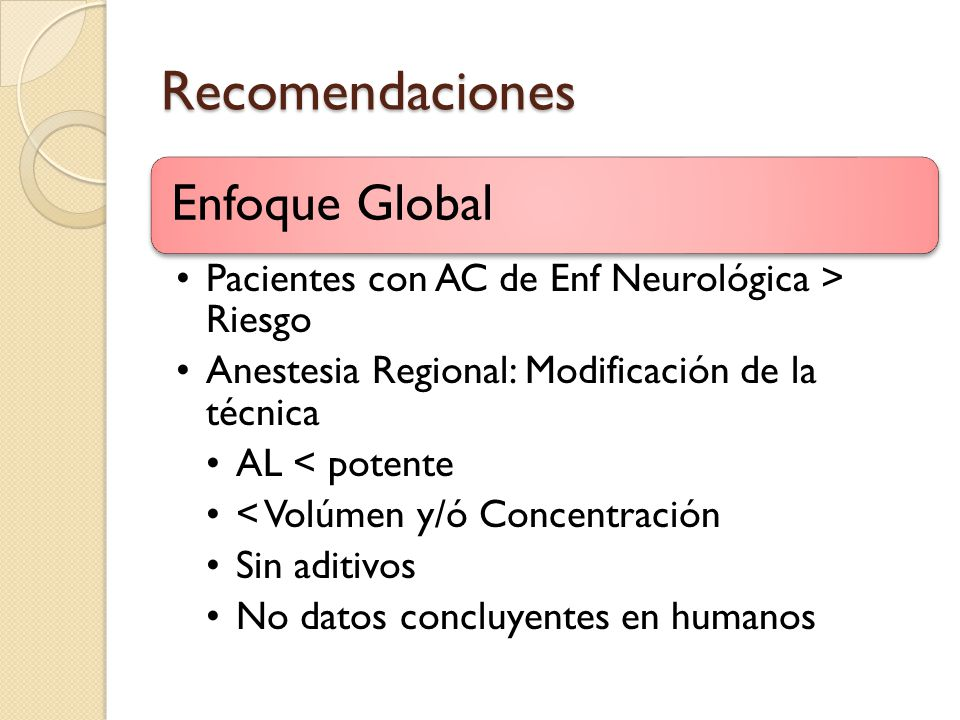 Recomendaciones Enfoque Global
