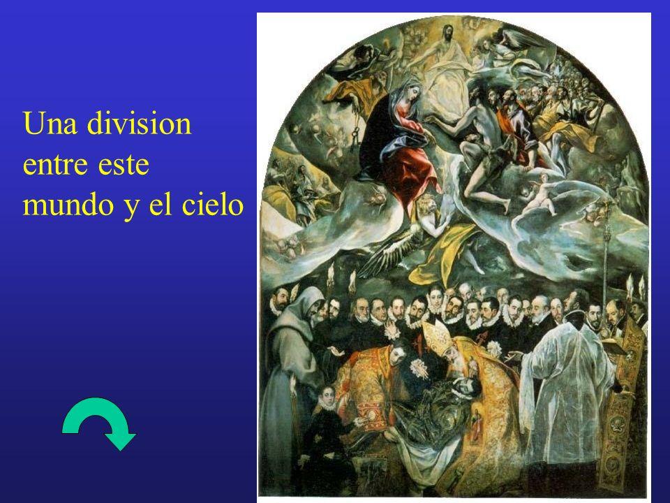 Una division entre este mundo y el cielo